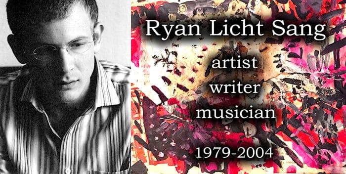 Ryan Licht Sang - artist, writer, musician 1979-2004